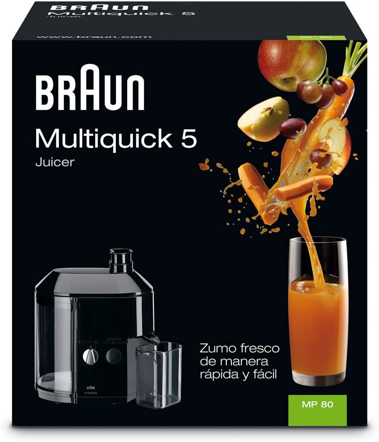 Braun - Exprimidor MP 80: Amazon.es: Hogar