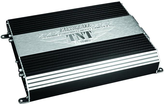 Earthquake Sound TNT Series T1000W/2 2-Channel 1400-Watt MOSFET Amplifier  with Auto Sensing