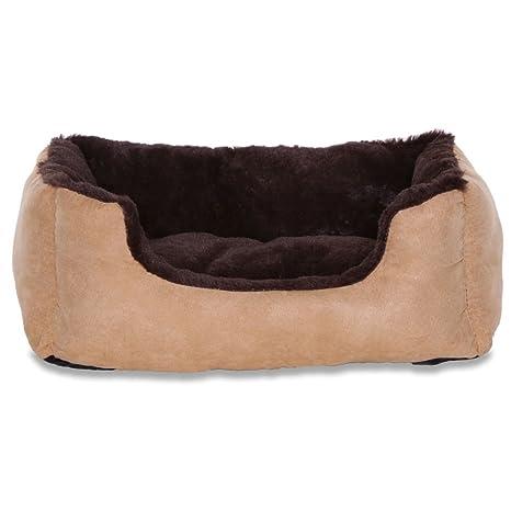 Cama para perros – Perros Cojín – Perros sofá con cojín Reversible tamaño y color a