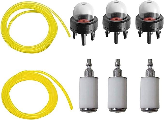 Filtre à Carburant Ligne Hos Primer Ampoule Fit pour Poulan Craftsman Weed mangeur de gaz tondeuse