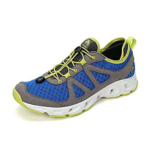 Men's Outdoor Trail Running Shoe Color Blue/Grey Size 39 M EU