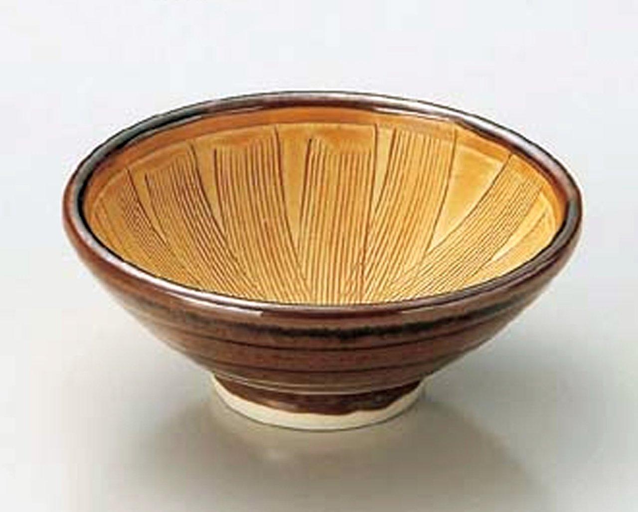 SOTOSABI-SURIBACHI 3.3inches Small Bowl Japanese original Porcelain watou.asia