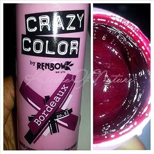 Crazy color hair dye Bordeaux