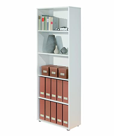 Inter Link 13500040 Regal weiß Bücherregal Wandregal Aktenregal ...