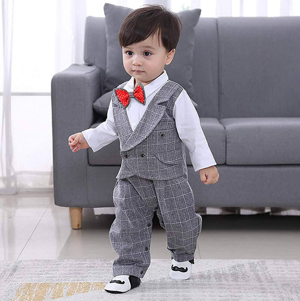 Quenny England Siamese Clothes,Baby-Boys 0-3months Rompers