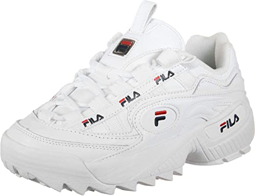 Fila D-Formation Mens - White Navy Red - 47 EU: Amazon.it ...