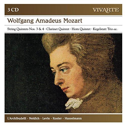 Mozart: String Quintets Nos. 3 & 4, Clarinet Quintet, Horn Quintet, Kegelstatt Trio