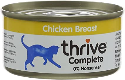 Image ofThrive Cat Complete Food - Chicken Breast 75g. (Pack of 6)