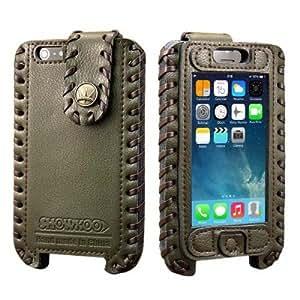 """Iphone 5/5S : Case cubierta de plástico protector de la """" Línea de Forma geométrica """" Bi- Color azul"""