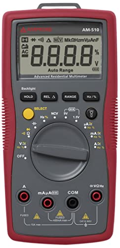 Best Multimeter Under $50 - Amprobe AM-510 Multimeter Review