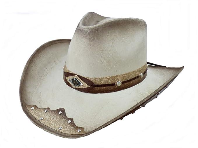 Bullhide Men s Cowboy Hat Beige Beige  Amazon.co.uk  Clothing 1c3e3414705f