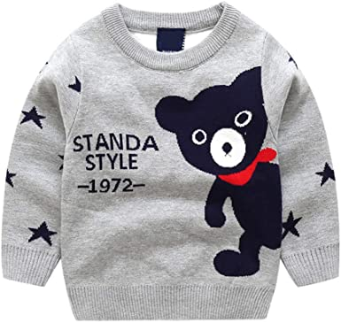 Toddler Baby Girls Sweatshirts Kids Long Sleeve Knitted Blouse Top Tshirt