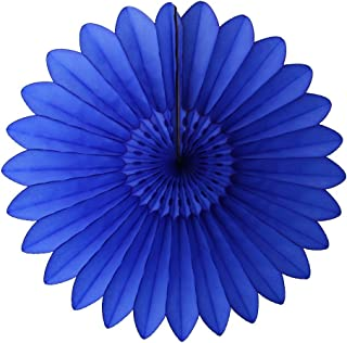 product image for Devra Party 6-Pack 18 Inch Tissue Paper Fanburst (Dark Blue)
