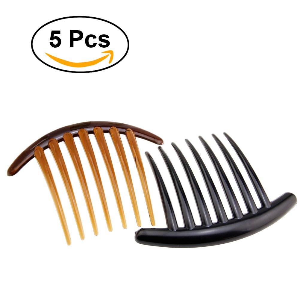 Frcolor peigne décoratif pour femmes Peigne en plastique