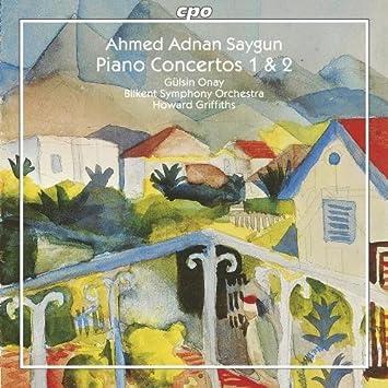 Saygun: Concerti Per Piano Nn.1 2: Gülsin Onay, Bilkent So: Amazon.it:  Musica