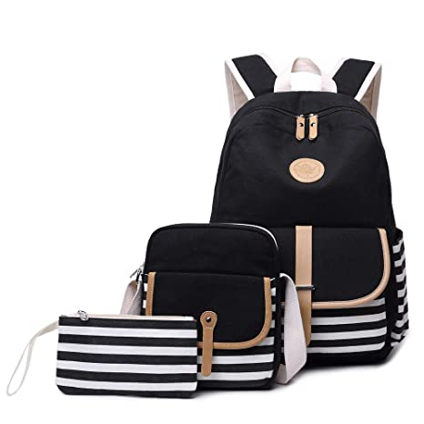 Image Unavailable. Image not available for. Color  Causal Travel Canvas  Rucksack Backpacks Girls ... 843f00c82f