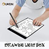 UKON A4 Light Box Drawing Tracing Diamond