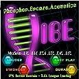 Vibe Strings Acoustic Guitar Phosphor Bronze and Steel Strings, Medium, 12-52 Gauges
