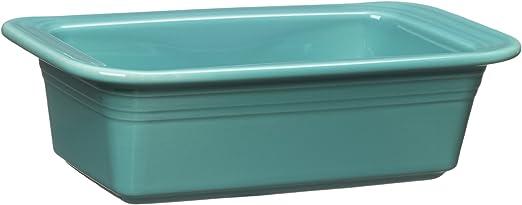 Fiestaware Turquoise Loaf Pan Fiesta Blue Bakeware Bread Baking Pan