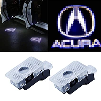AMINEY - Proyector de luces LED para puerta de coche con logo de ...