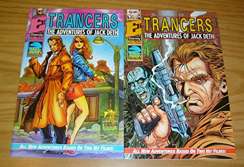 Trancers: The Adventures of Jack Deth #1-2 VF/NM complete series based on Full Moon movie ; Eternity