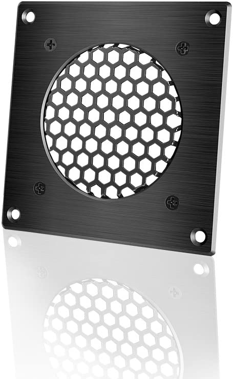 for PC Computer AV Electronic Cabinets AC Infinity Ventilation Grille 1 Also Includes Hardware to Mount one 80mm Fan