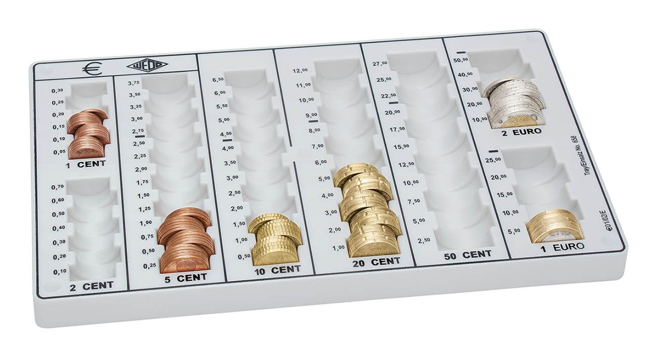 Wedo 161658000 Europa Inserto Classificatore, 262 x 160 x 30 mm, Bianco Werner Dorsch