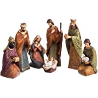Belén de Navidad Grande de 7 Figuras