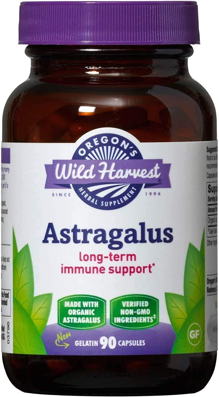 Oregon's Wild Harvest Organic Astragalus Supplement