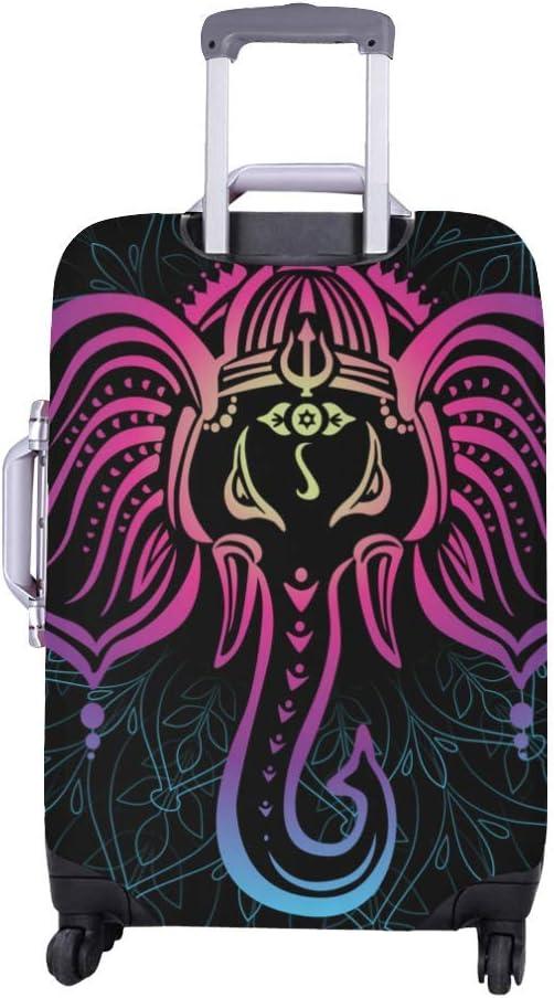 InterestPrint Luggage Cover Mandala Traveling Luggage Cover Polyester Suitcase 20x24 Inch Unisex