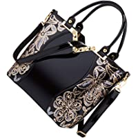 KESYOO Women Handbag Lady All- Match Storage Bag Large Capacity Tote Bag