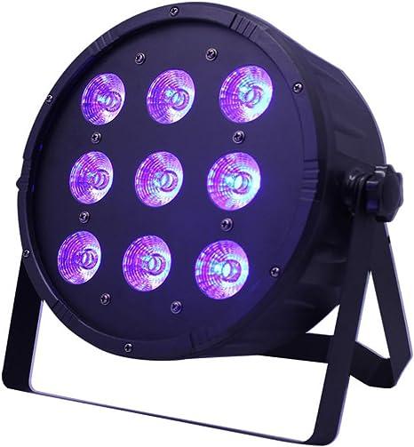 Top-Uking Por luz Proyector 9LEDs Luz de discoteca Iluminación de ...