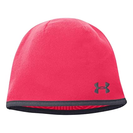b435bf84f07 Under Armour Women s Storm Fleece Beanie Neo Pulse Phantom Gray Phantom  Gray Hat One
