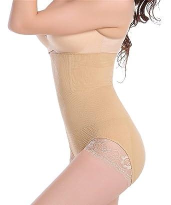 ecd1e539e Women s High Waist Trainers Shapewear Lace Butt Lift Panties Shaper  Underwear Tummy Control Corset at Amazon Women s Clothing store
