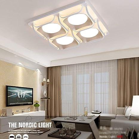 BIXIANGJI - Lámpara de techo, para casa, salón, dormitorio ...