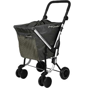 Playmarket We Go - Carro de compra, Tela, Gris (Dark grey wheat): Amazon.es: Hogar