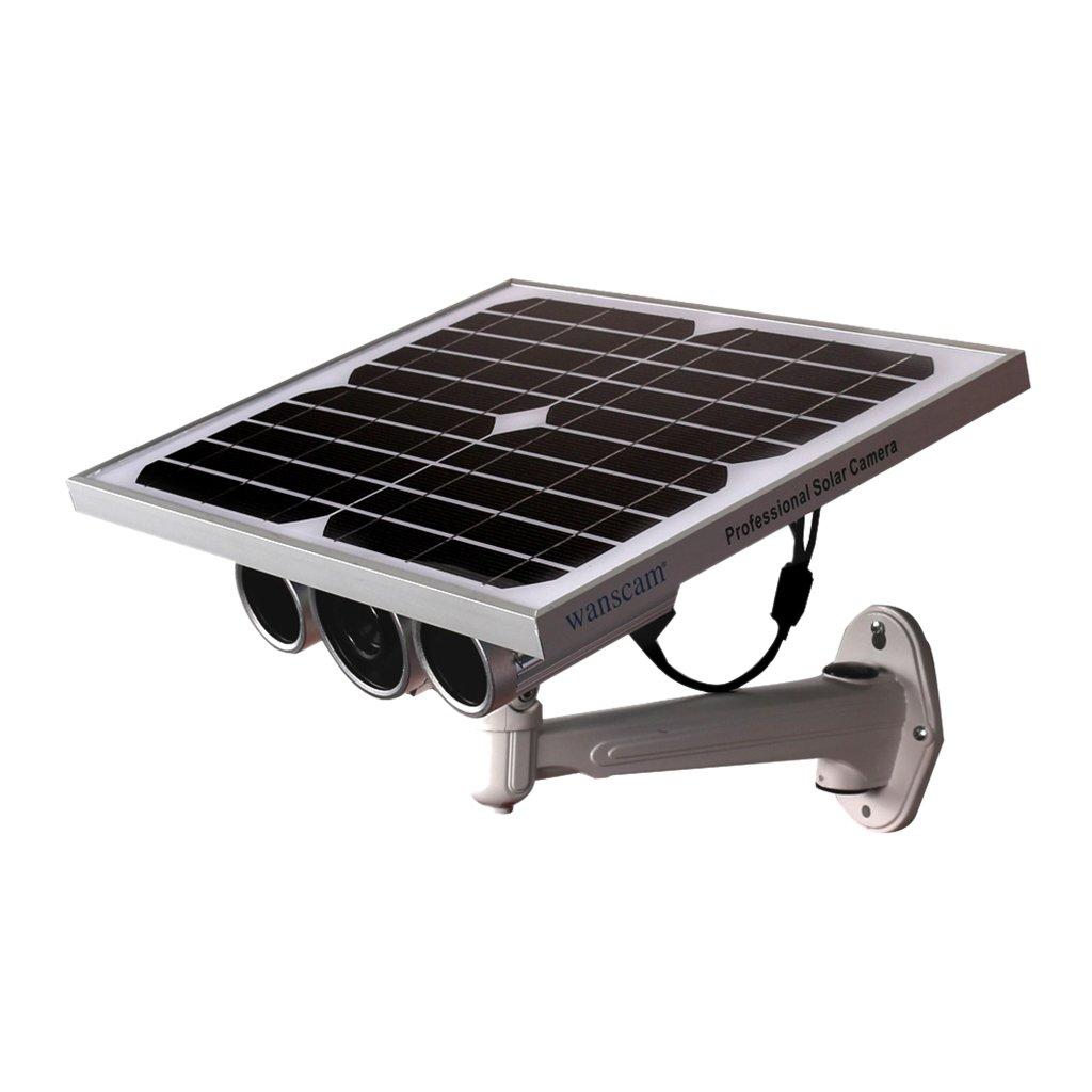 Dovewill Wireless Solar Security Camera CCTV Surveillance Camera Outdoor Waterproof Camera US Plug by Dovewill