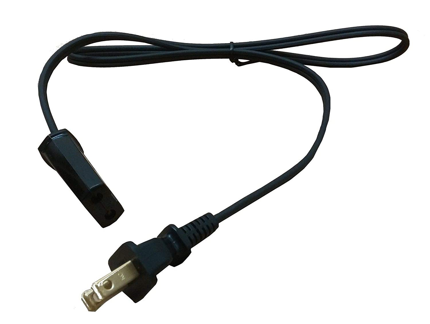 New Replacement 1/2 inch Spacing 3ft Long 36 '' Plug Wire Power Cord For Farberware & Presto Super Speed Coffee Pot Percolator For West Bend Slow Cooker 84114 84124