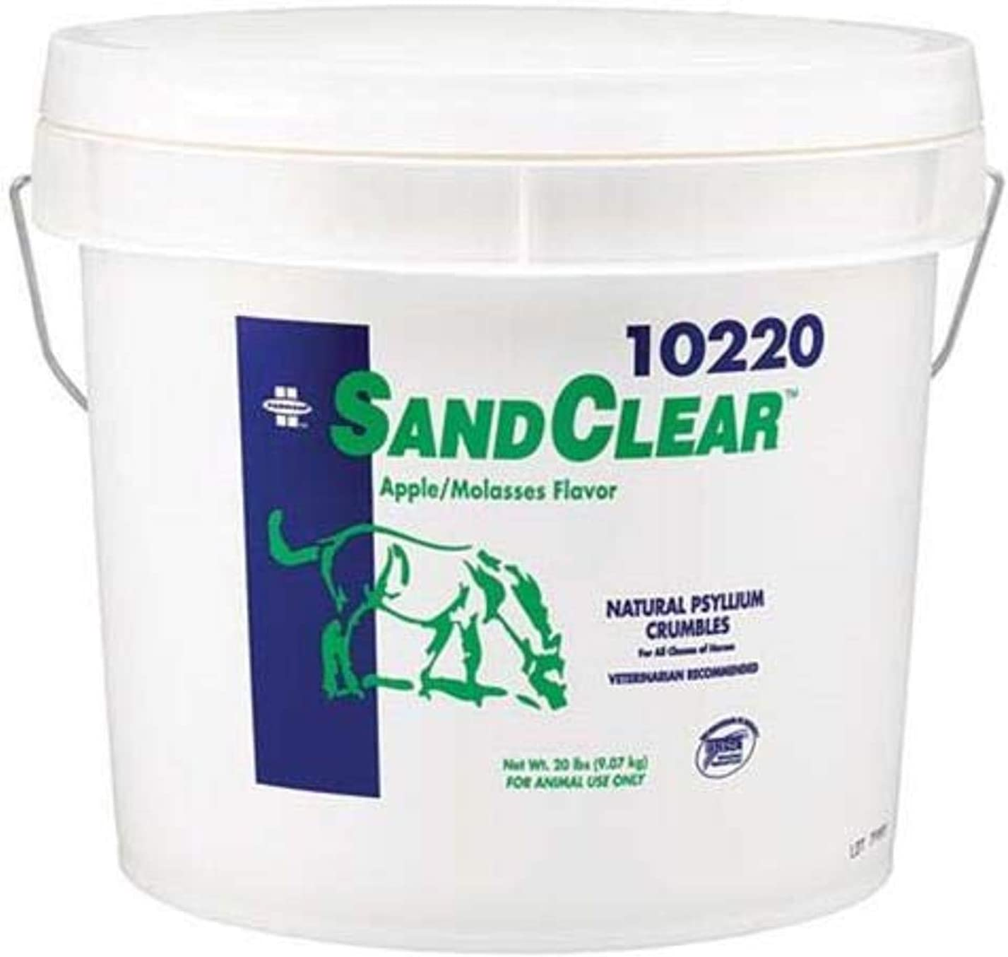 Farnam Sand Clear Digestive Aid for Horse, 20-Pound (10220) : Horse Nutritional Supplements And Remedies : Pet Supplies