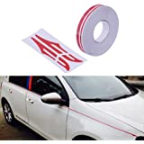 "Power Mall 12mm 0.5"" Pinstripe Pinstriping Pin Stripe Decals Vinyl Tape Stickers For Cars"