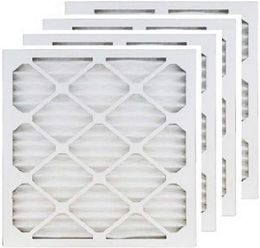 9.5x9.5 Accumulair Platinum 10x10x1 6 pack MERV 11 Air Filter//Furnace Filters