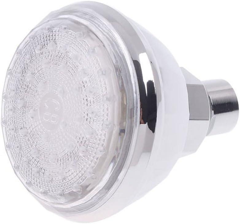 Multicolor bestomz LED Light Shower Faucet Head Boquilla para ducha cambiante de color con luz