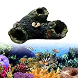 LAY'S Aquarium Landscaping Decoration Trunk Bole Driftwood Cave Fish Tank Resin Ornament for Fresh Water Sea Water