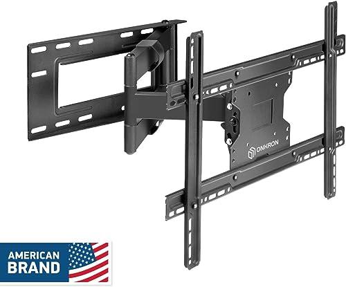 ONKRON TV Wall Mount Bracket Full Motion Articulating Long Arm for 39 60 Inch LED LCD Plasma Flat Screen TV with Tilt Swivel 150 LBS Loading Capacity M7L