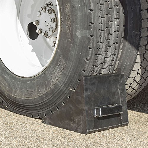 Guardian Industrial Products Rage Powersports DH-WC-3 Wheel Chock (Heavy Duty 120 ton 41' for Fire Trucks and Hauler Trucks) by Guardian Industrial Products (Image #1)