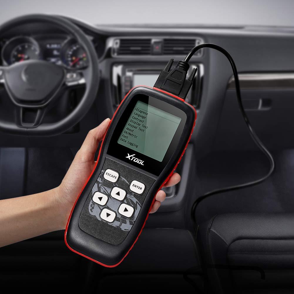 XTOOL VAG401 OBD2 coche herramienta de análisis de diagnóstico OBD II Escáner Motor Falla código lector datos en vivo para VW, Audi, Seat y Skoda Vehículos, ...