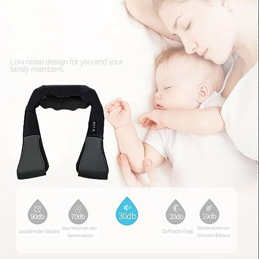 Schulter Massagegerät, 3D Shiatsu Nacken & Schulter Knetmassagegerät ...