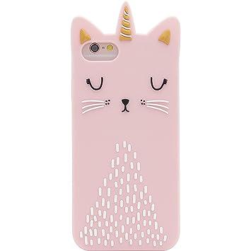 coque d iphone 6 licorne rose