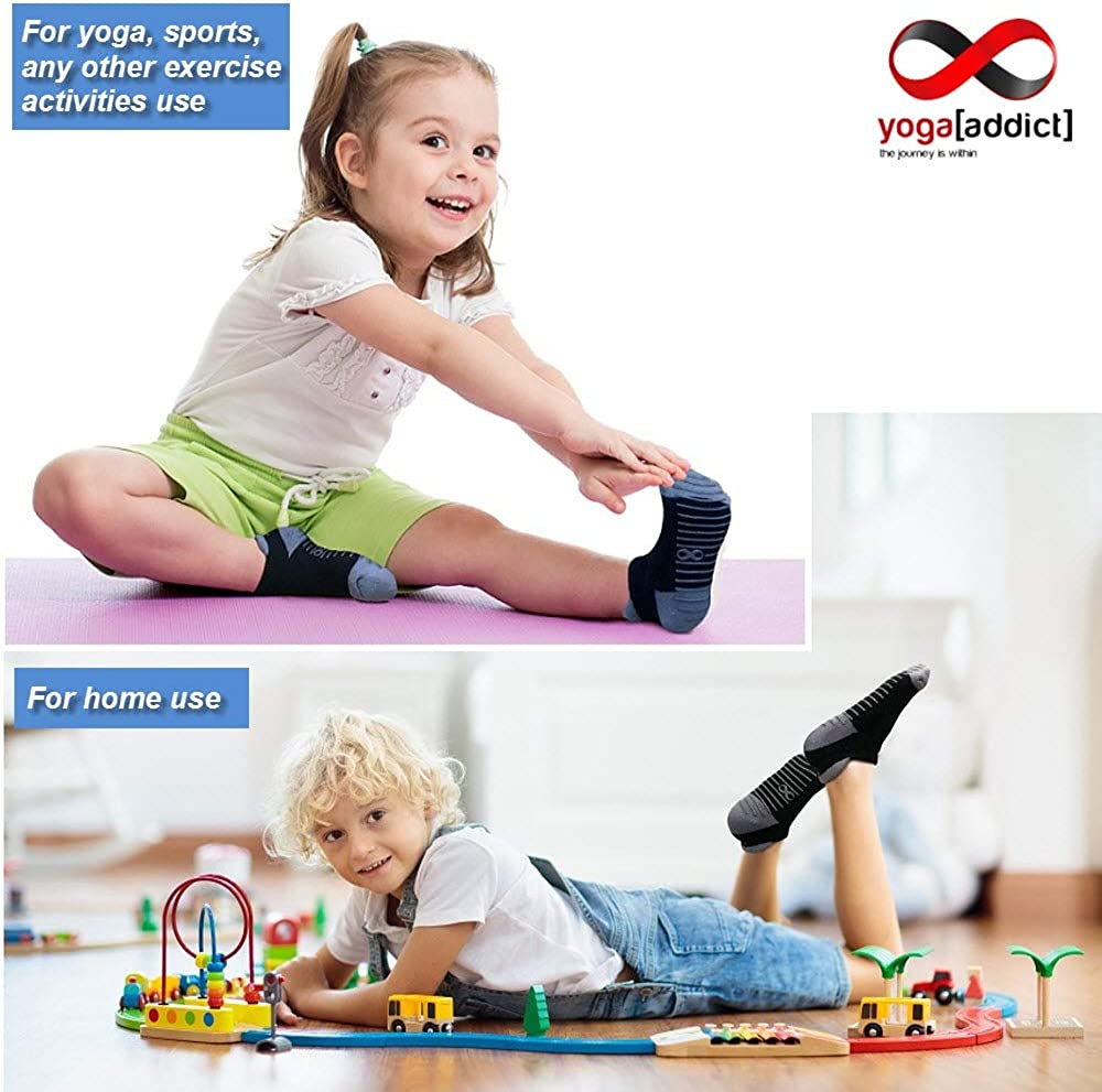 Home Use for Hospital Rehab Yoga Fitness Men Trampoline Martial Arts Kids, Traveling Choose Your Colour Barre 1 /& 2 Pairs Set Pilates YogaAddict Non Slip Skid Socks with Grips Women