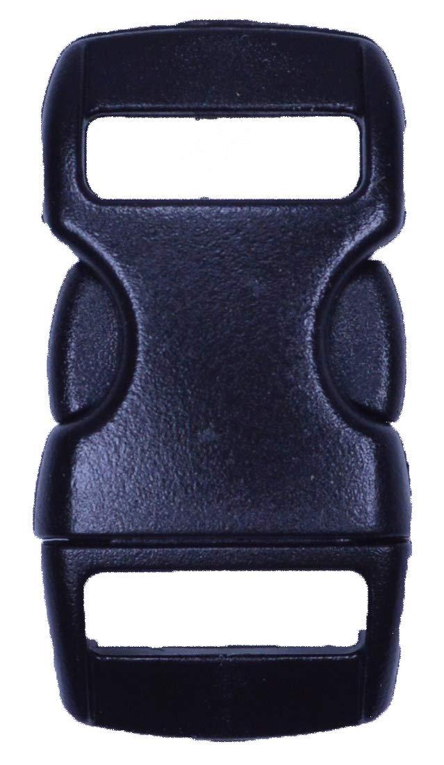 【在庫あり/即出荷可】 BoredParacord Inch サイドリリース ブラック プラスチックバックル 20 - 複数のサイズと数量 B07MMNYGRP 20 Pack|3 -/8 Inch 3/8 Inch 20 Pack, 国頭村:a0868b8d --- ciadaterra.com